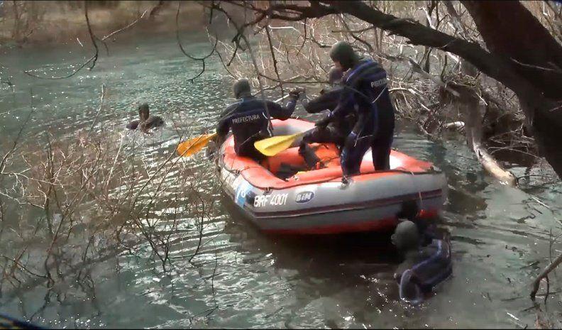 Investigan si el cuerpo encontrado en el río Chubut es el de Maldonado