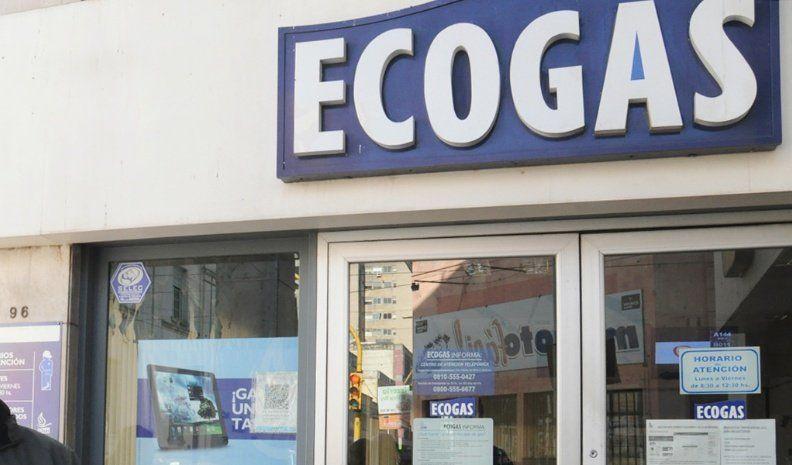 Ecogas les envió una factura de 80.000 pesos y van a la Justicia