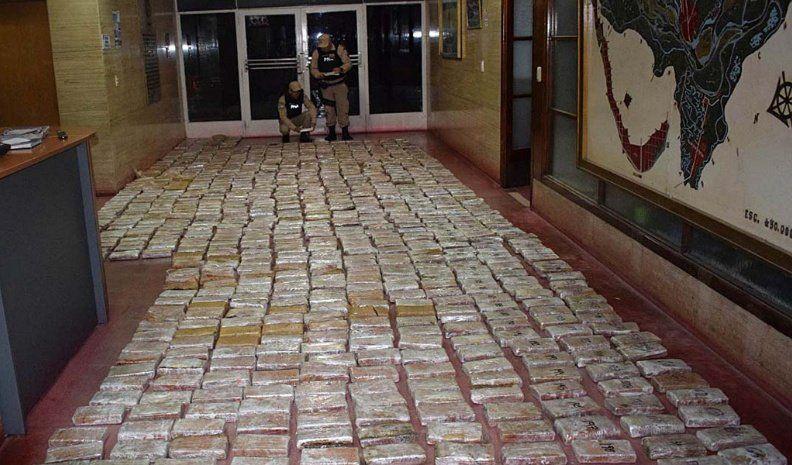 Rivarola y Ortiz habrían comprado 3.500 kilos de droga que fueron secuestrados