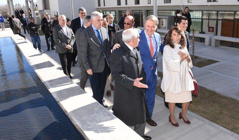 En un acontecimiento histórico se inauguró el nuevo edificio de Tribunales