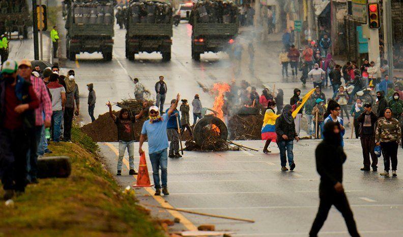La paz no se negocia, expresó el presidente de Ecuador