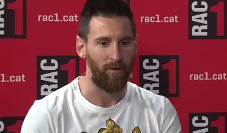 Messi reveló de qué serie es fan