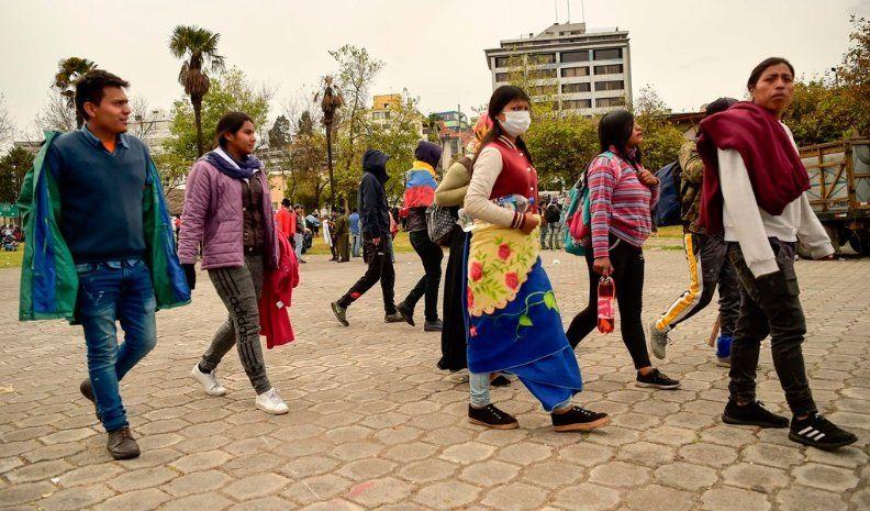 Ecuador: ratifican una reunión del gobierno y el movimiento indígena