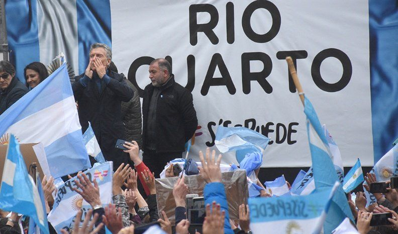 Volvé a mirar el acto de Macri en Río Cuarto