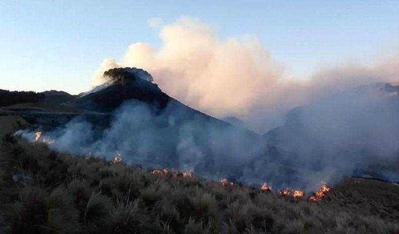 Por los incendios, piden declarar la emergencia para Río de los Sauces