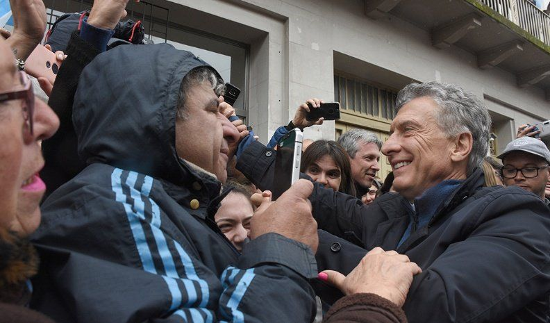 Para Macri, el país ha sido como un alcohólico recurrente con la inflación