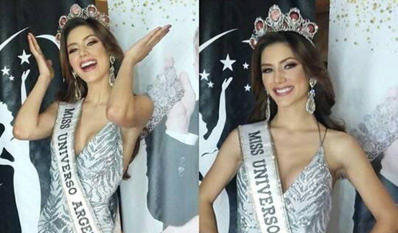 Mariana Varela es la nueva Miss Universo Argentina