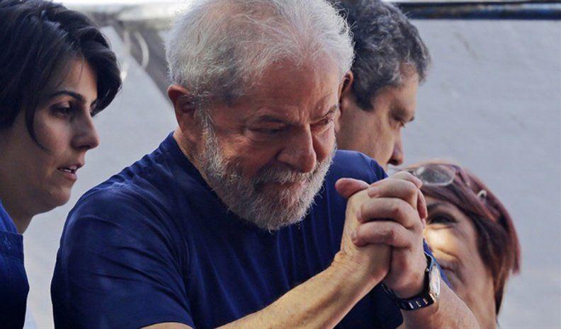 La Justicia concedió la libertad a Lula Da Silva
