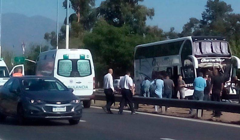 Varios heridos al chocar un colectivo que iba de Mendoza a Córdoba