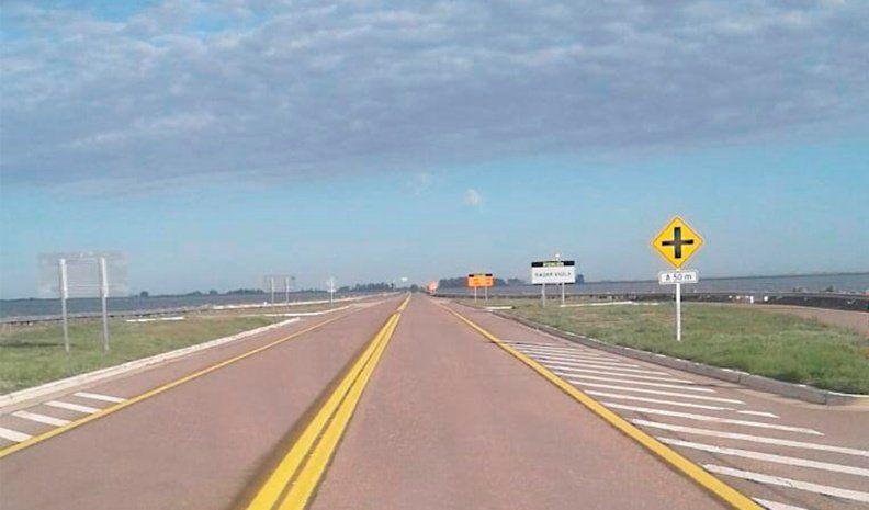 Mañana se habilita la ruta 7 a la altura de la laguna La Picasa