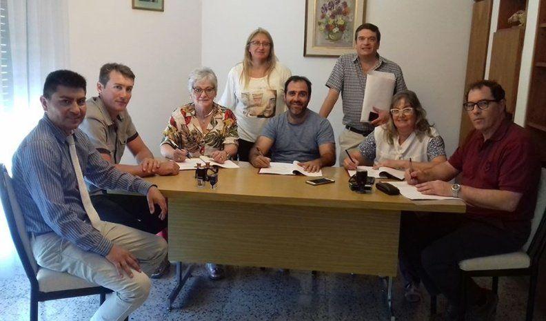 Carnerillo pedirá ayuda a la Provincia para desarrollar la nueva planta cloacal
