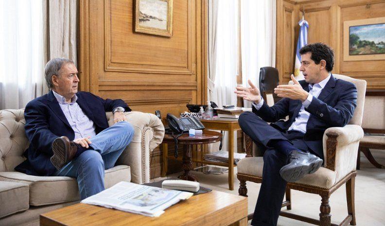 Schiaretti se reunió con Wado de Pedro en Casa Rosada