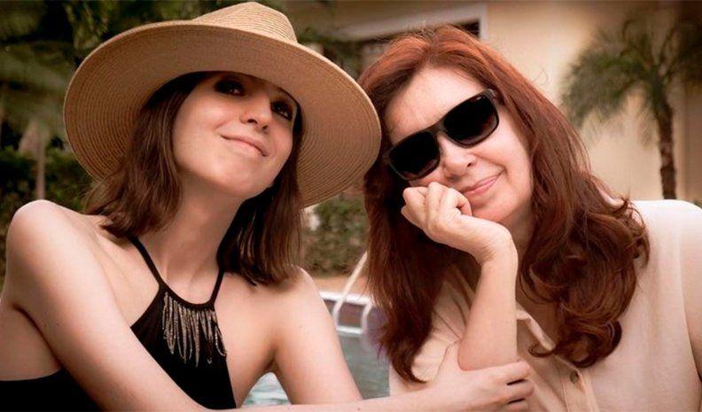 Florencia Kirchner brindó su primera entrevista tras su regreso de Cuba.