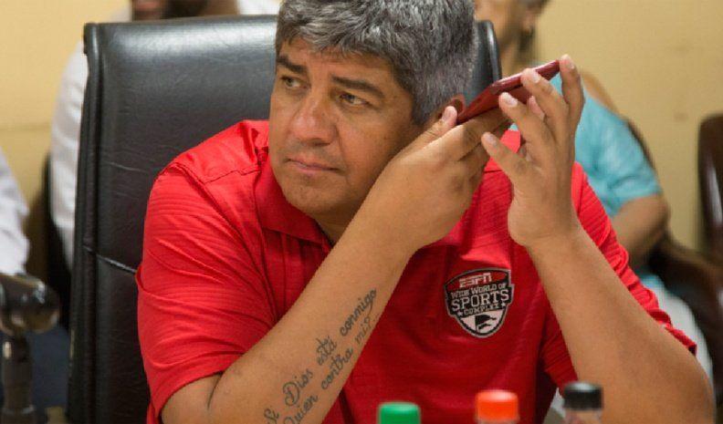 Pablo Moyano: Si perdemos contra nueve jugadores, no es responsabilidad nuestra