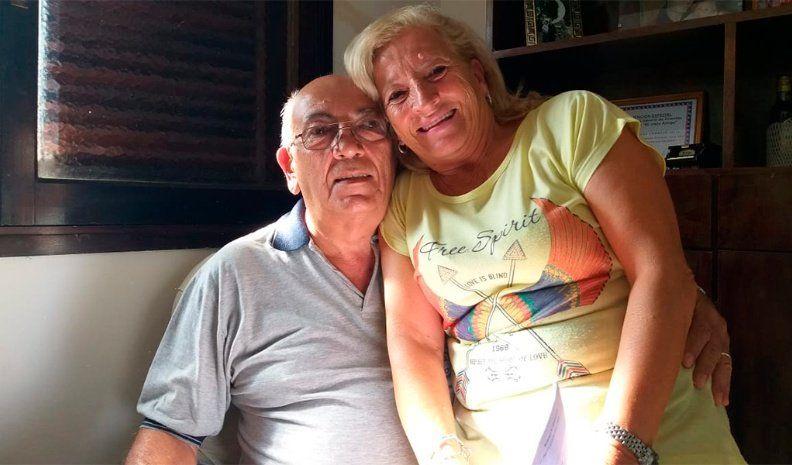 La historia de Vilma y Miguel, una lección de amor