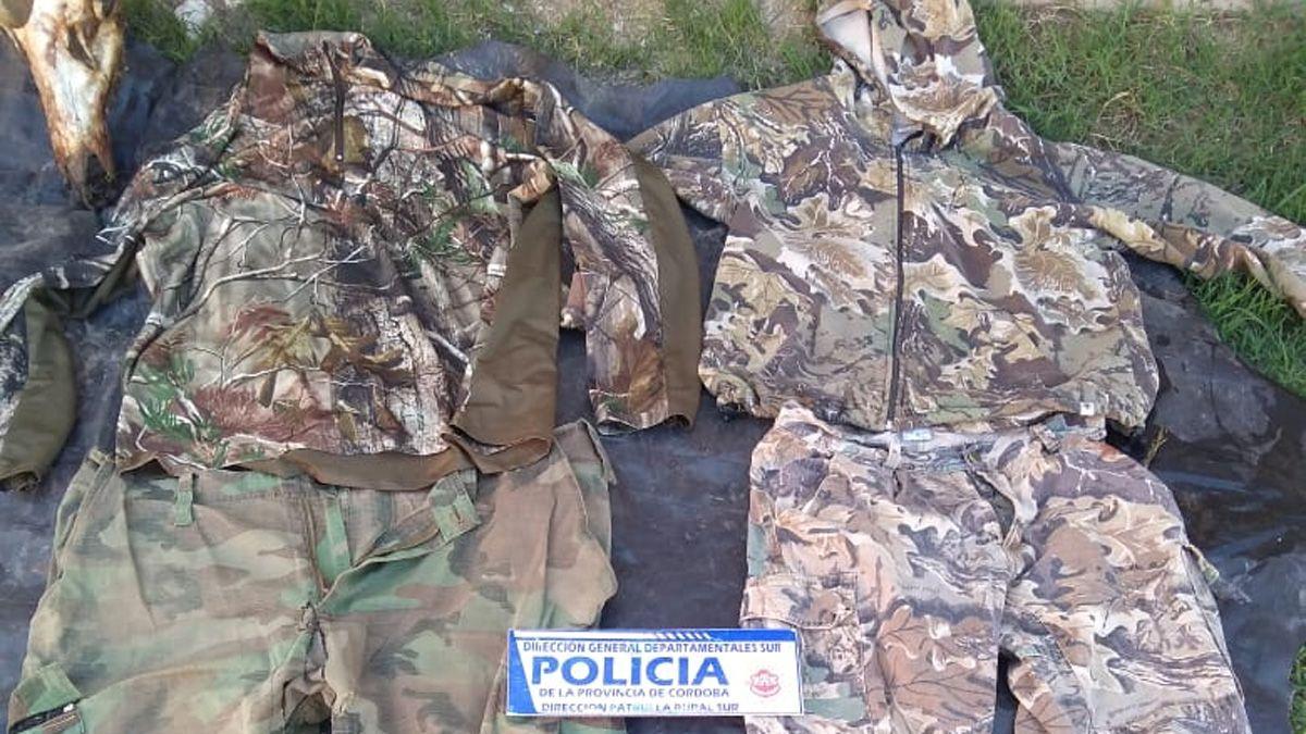 Secuestraron la ropa que habrían utilizado para el robo.