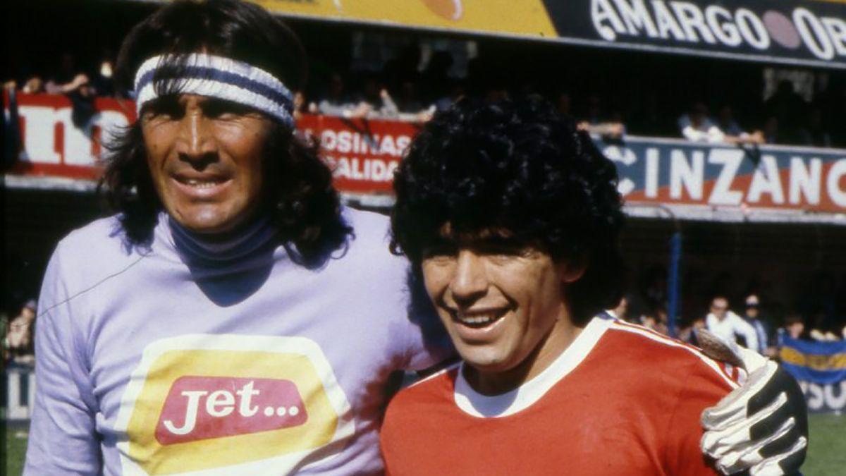 Coronavirus: Maradona le mandó fuerzas al Loco Gatti