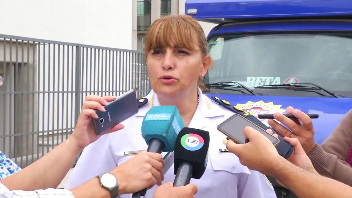 Claudia Salgado ascendió a comisaria general en la Policía de Córdoba.