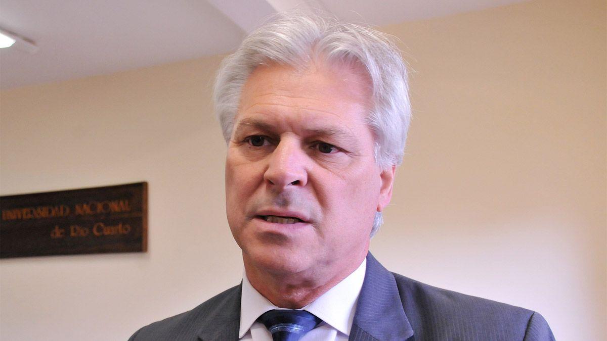 El rector de la UNRC