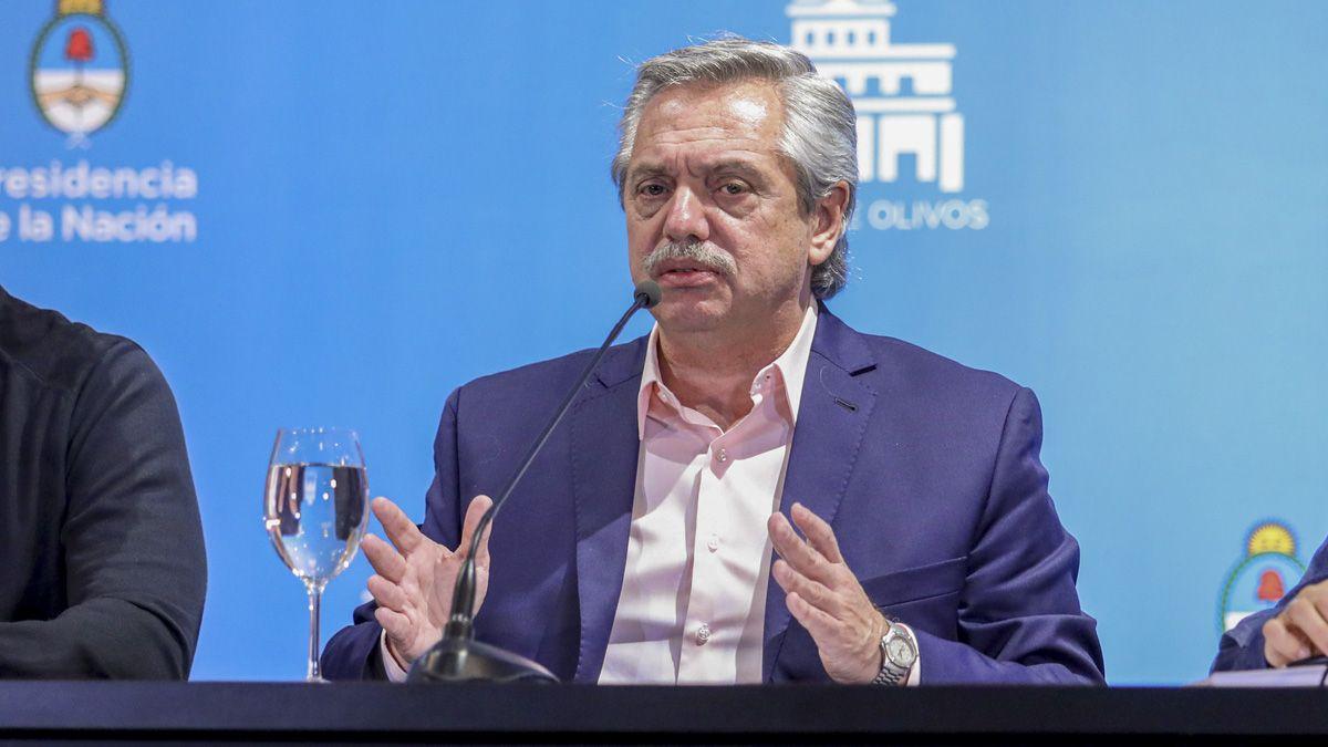 El presidente Alberto Fernández consideró que el reinicio de clases puede extenderse.