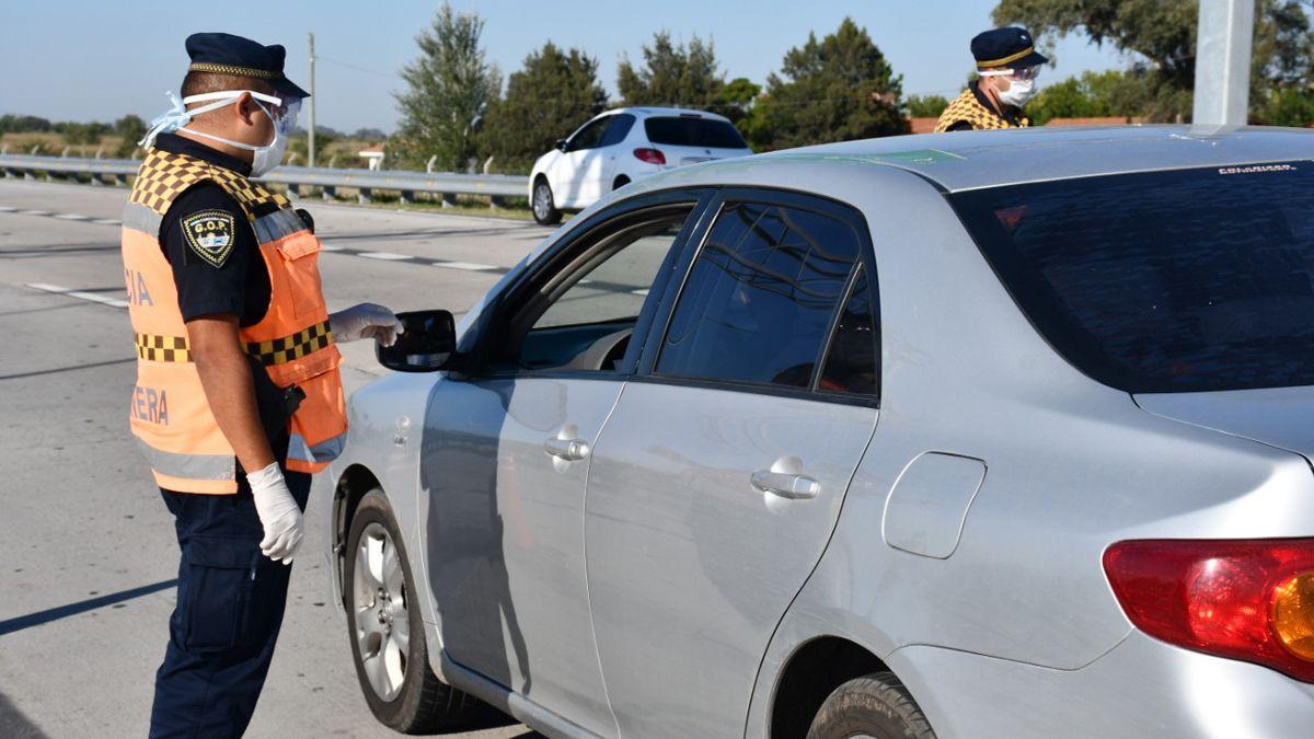 La Policía Camineraregistró 205 detenidos por incumplimiento del aislamiento obligatorio.