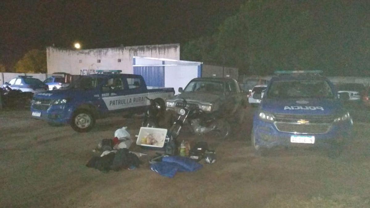 En Cabrera fueron detenidos 10 jóvenes por incumplir la cuarentena.