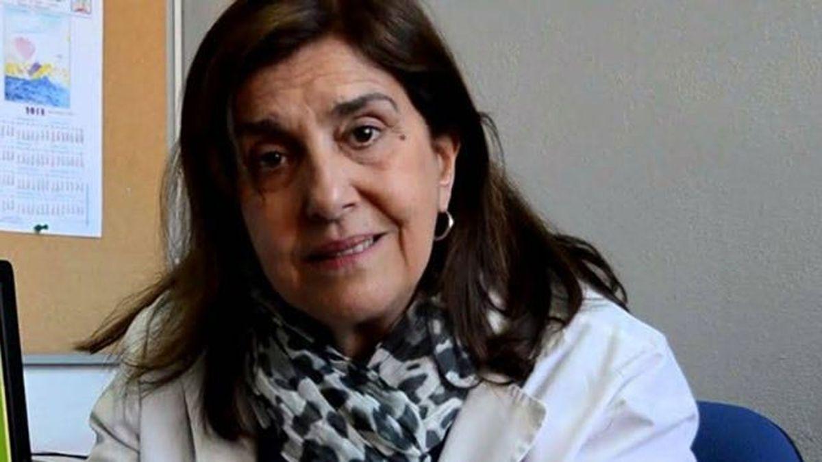 La doctora Ángela Gentile