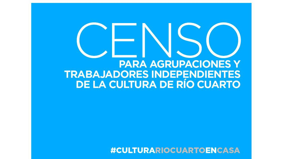 Censo de Cultura.