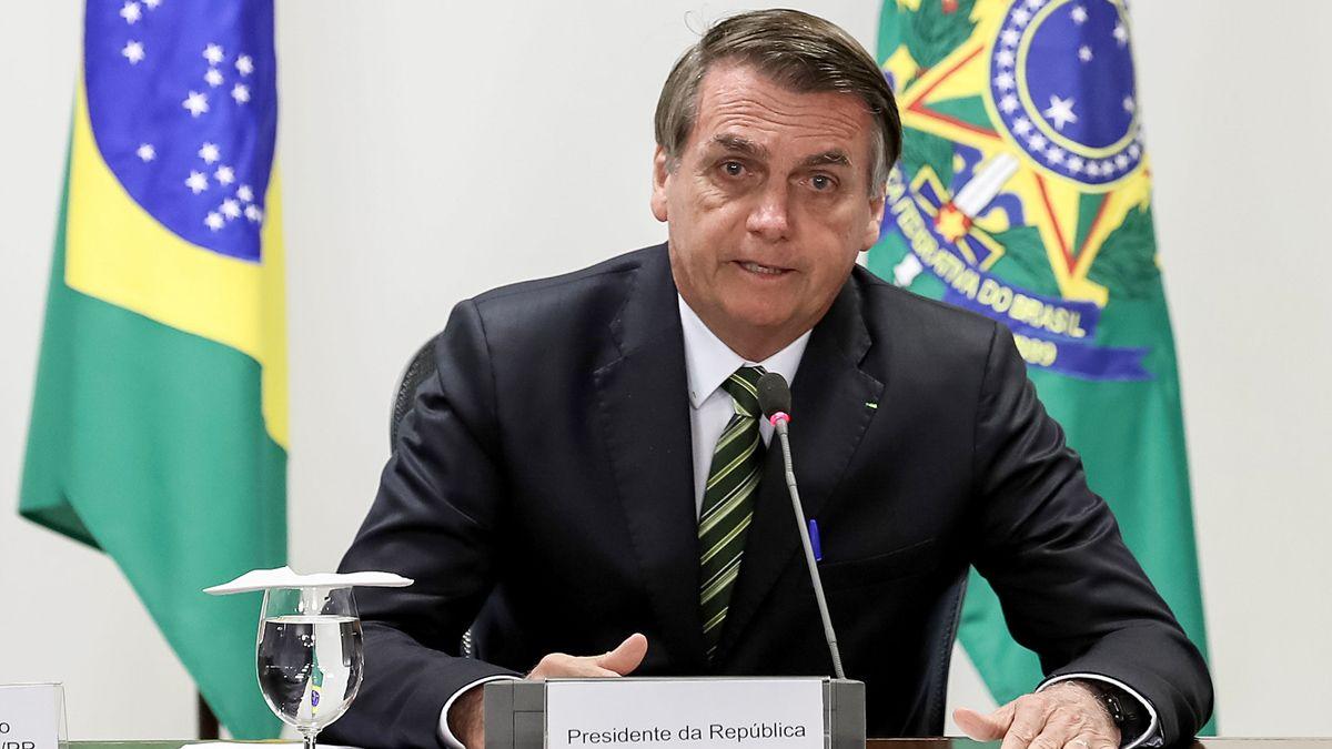 El presidente Jair Bolsonaro