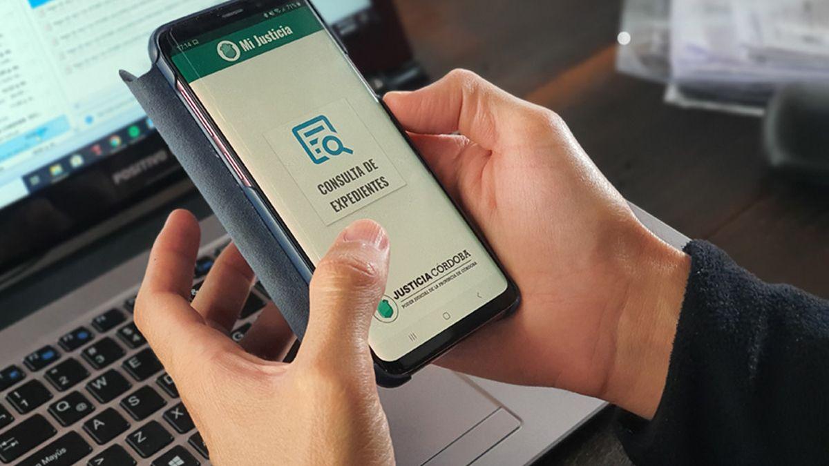 El TSJ habilitó una app para consultas de expedientes en Córdoba.