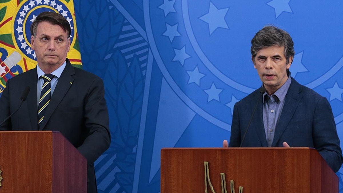 El ministro de Salud de Brasil