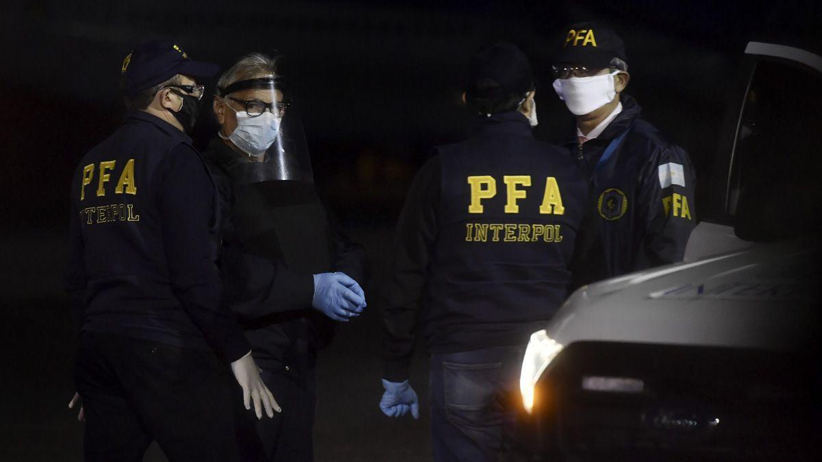 El presidente Fernández se refirió a la extradición del represor Chispa Sánchez desde Brasil.