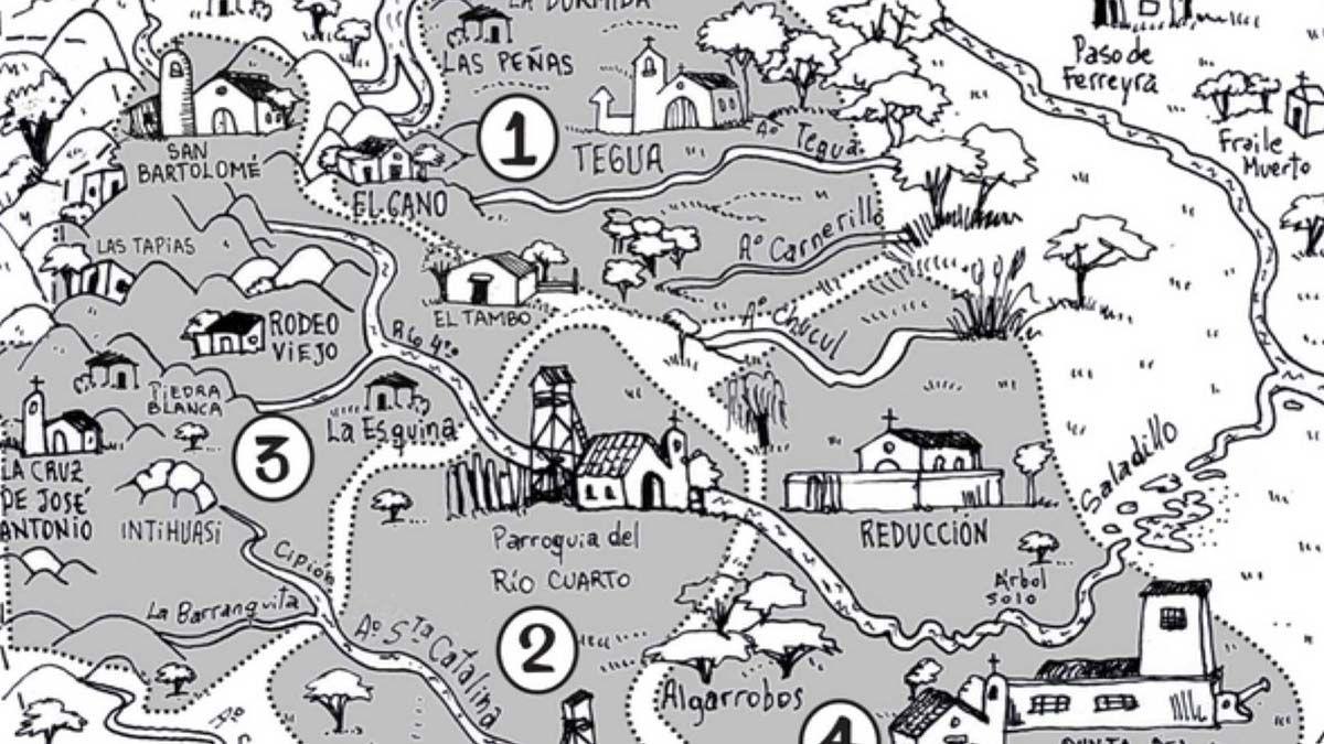 Acompañan a los chicos en la cuarentena con mapas históricos