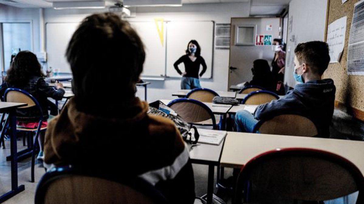 Reabrieron las escuelas en Francia