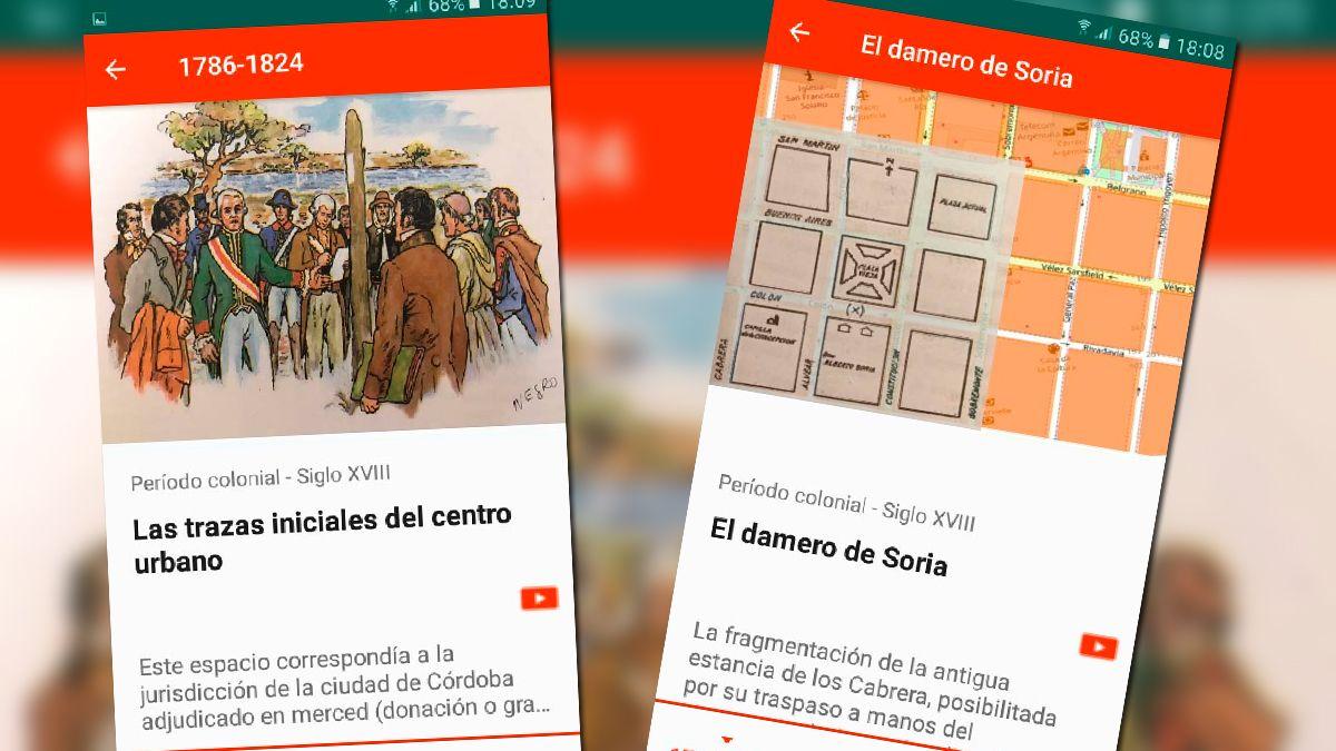 Lanzan app con información sobre la historia de Río Cuarto.