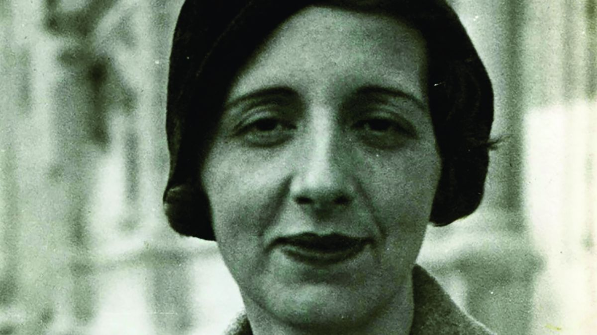 La filósofa y poetisa María Zambrano formó parte de la Generación del ´27