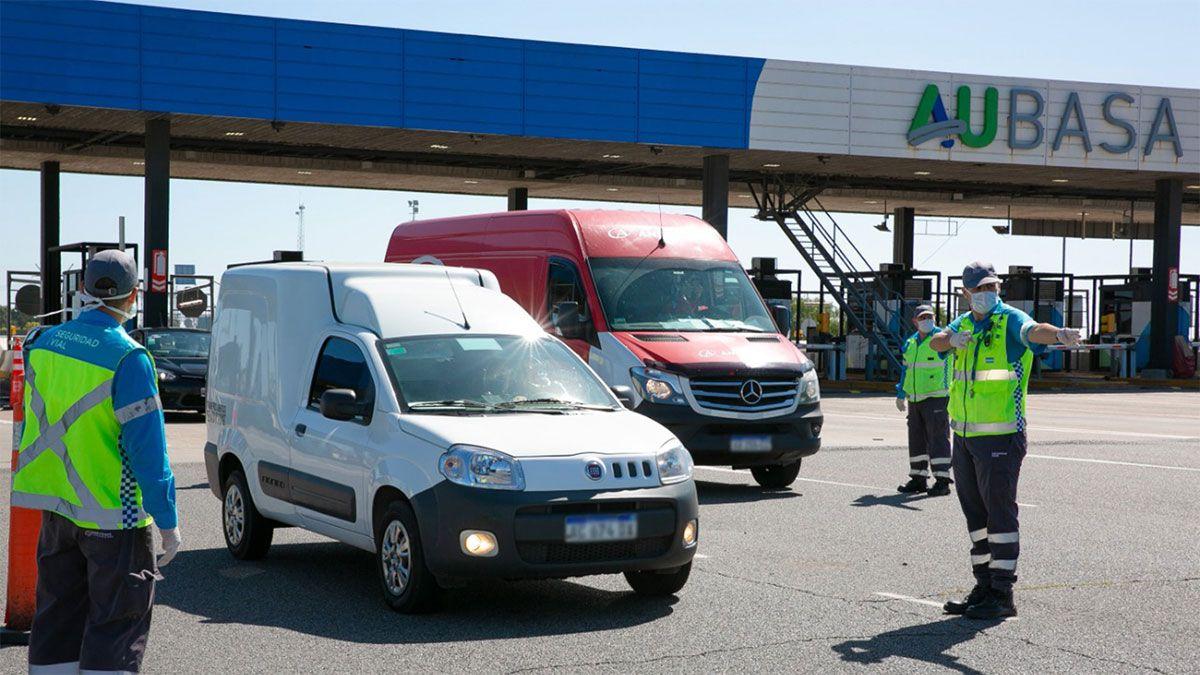 Vialidad exime del pago de peaje en rutas nacionales al personal de salud y de fuerzas de seguridad