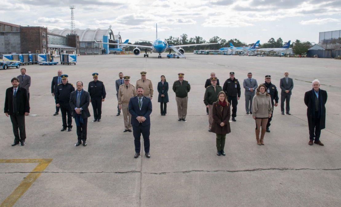 La PSA cumplió un rol fundamental al ser la primera en enfrentar al Covid-19 en su llegada a los aeropuertos