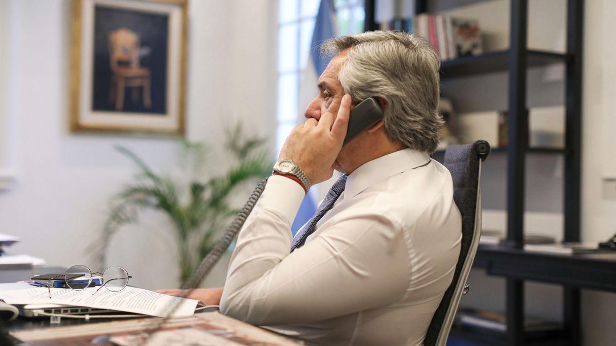Fernández confirmó que envió una nota de pronta recuperación al presidente Bolsonaro