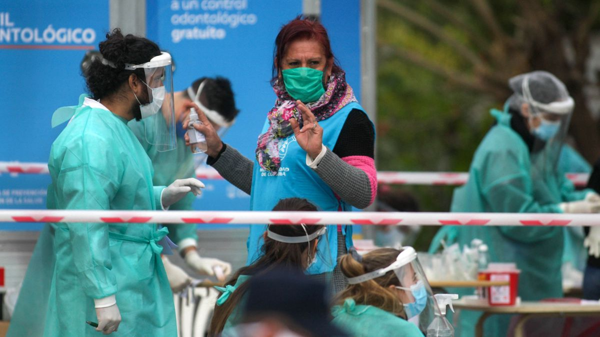 Córdoba registró este domingo la mayor cifra de contagios diarios.