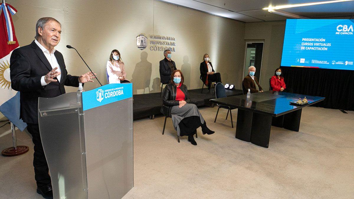 El gobernador encabeza un nuevo informe de situación epidemiológica provincial.