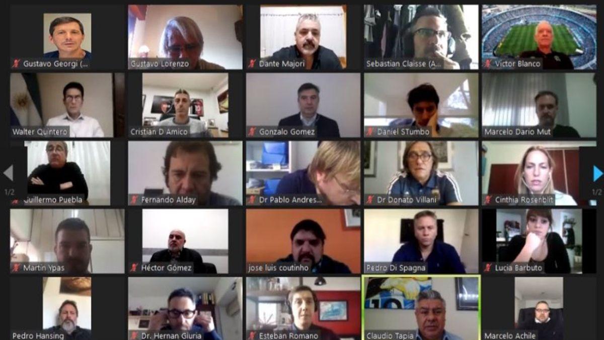 Reunión clave en AFA por los protocolos