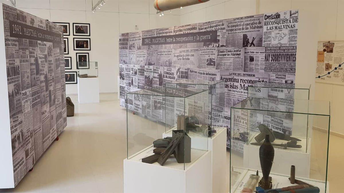 El museo Héroes de Malvinas inaugurado en Río Cuarto.