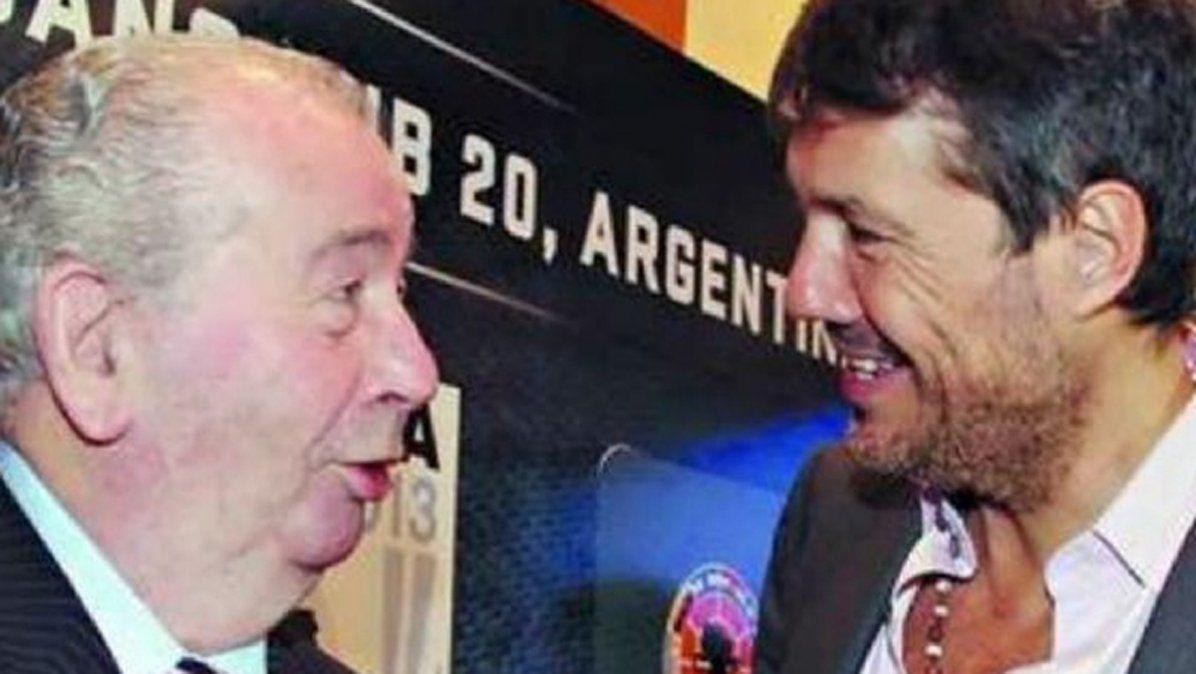 Reveladoras escuchas telefónicas entre Marcelo Tinelli y Julio Grondona en 2013