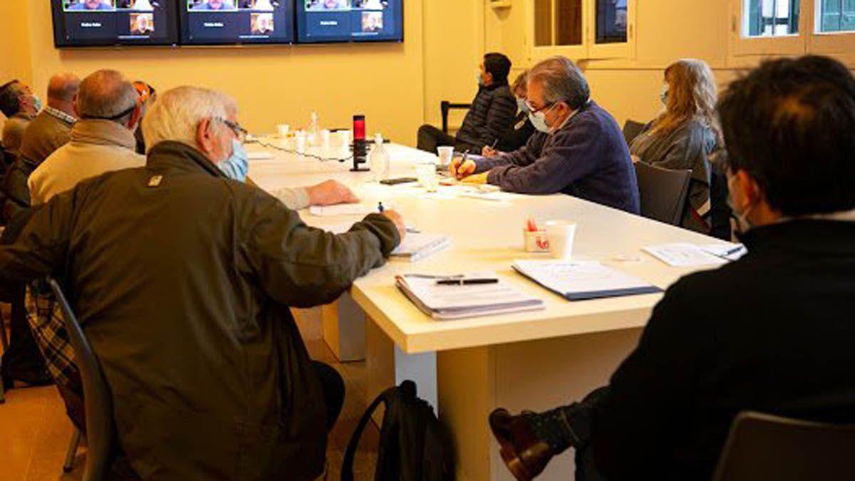La reunión del Comité Asesor de Científicos de Córdoba.