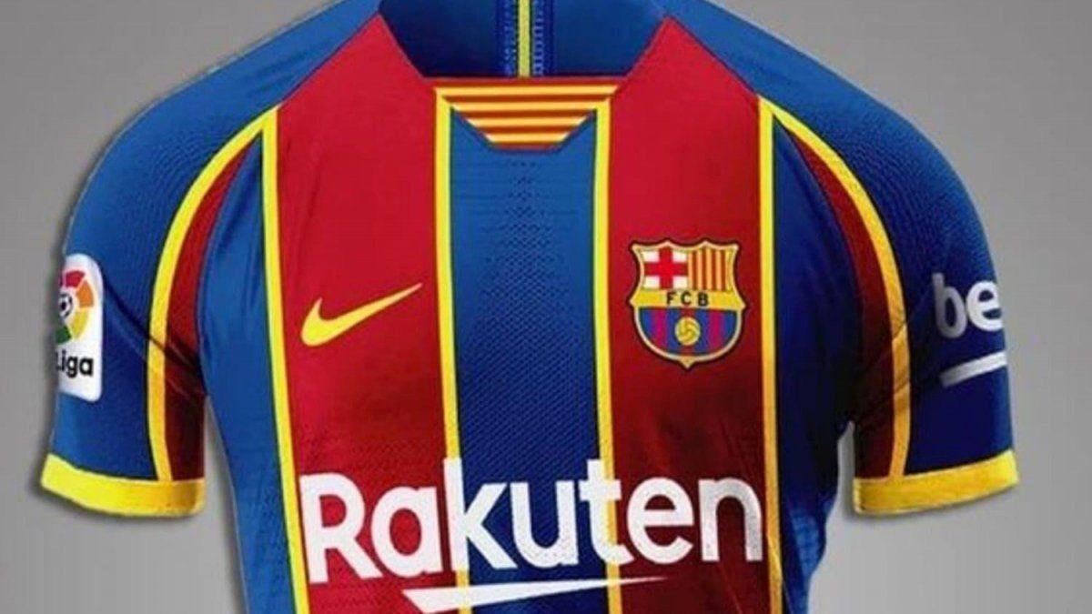 Retiran del mercado las nuevas camisetas de Barcelona