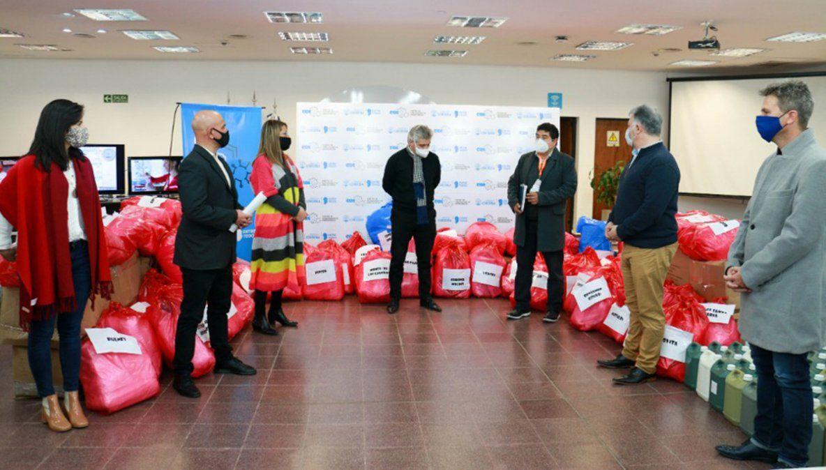 El COE Regional Río Cuarto recibió  elementos de protección personal