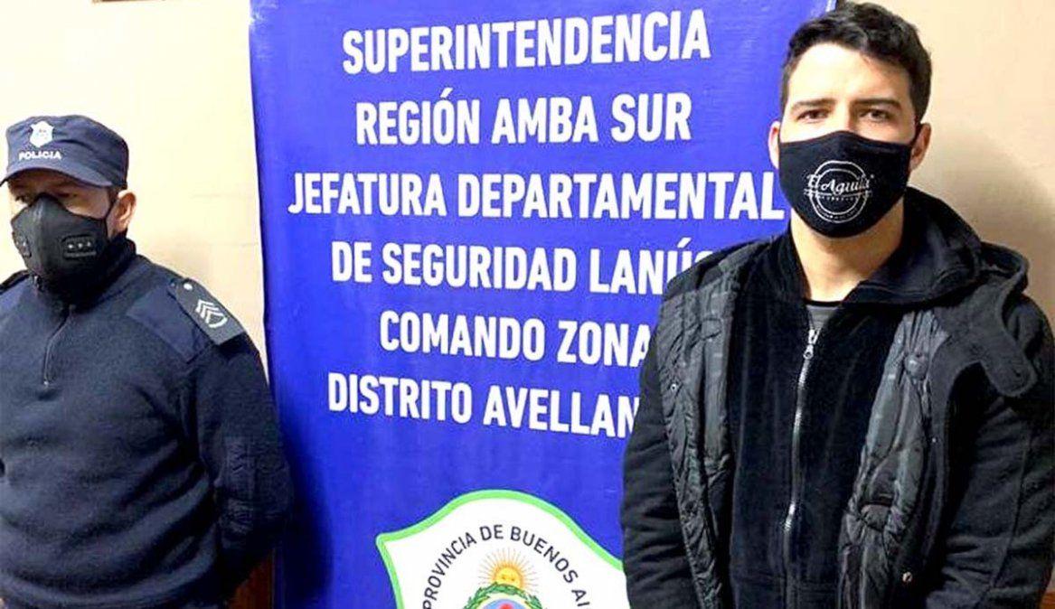 Abuso sexual: Alexis Zárate fue detenido y deberá cumplir la pena de 6 años y medio