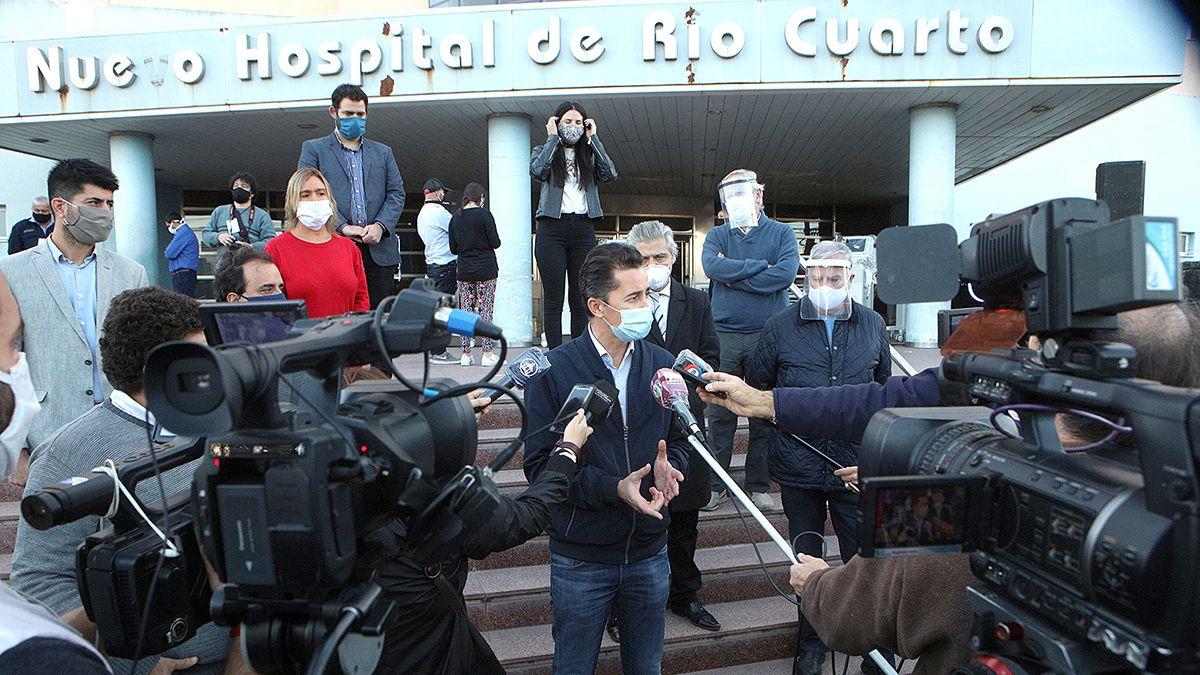 El vicegobernador Calvo encabezará la actividad de este lunes en el Hospital San Antonio de Padua.
