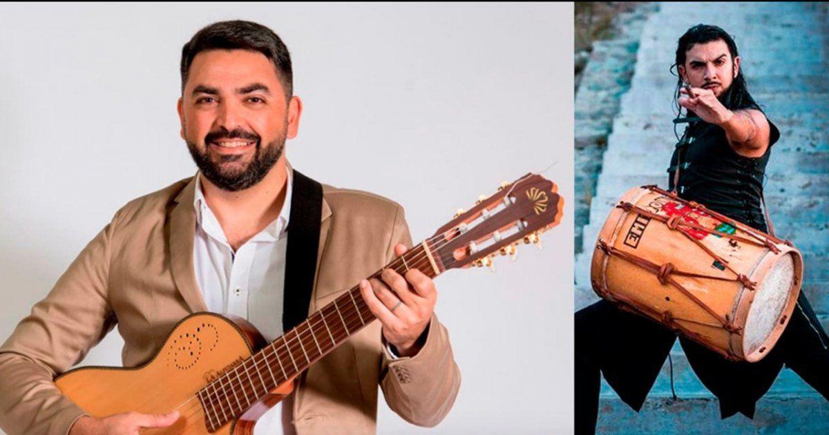 Tata Zalazar y Emilio Viale en Cultura Solidaria.